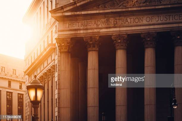 new york county supreme court - crime or recreational drug or prison or legal trial imagens e fotografias de stock