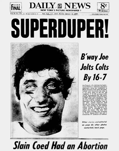 New York Daily News front page dated 1/13/69, Headline: Supe