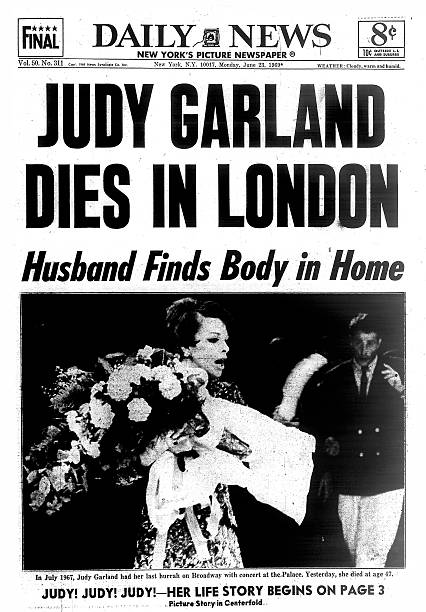 GBR: 22nd June, 1969 - 50 Years Since Death Of Judy Garland