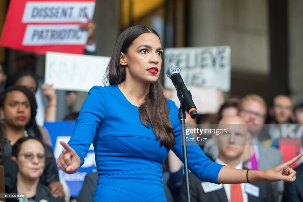 Boston Mayor, Activists Rally To Ask Jeff Flake To Reject Kavanaugh Nomination : News Photo