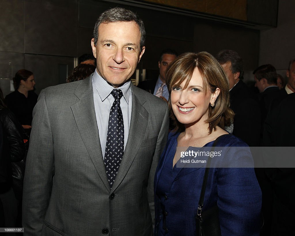YORK, New York (May 18, 2010) - ABC executives and network talent celebrated the upfront announcements at The Atrium. (Photo by Heidi Gutman/ABC via Getty Images, Co-Chair, Disney Media Networks; President, Disney/ABC Television Group) ROBERT IGER (President and CEO, The Walt Disney Company), ANNE