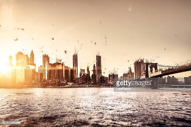 New York downtown apocalypse