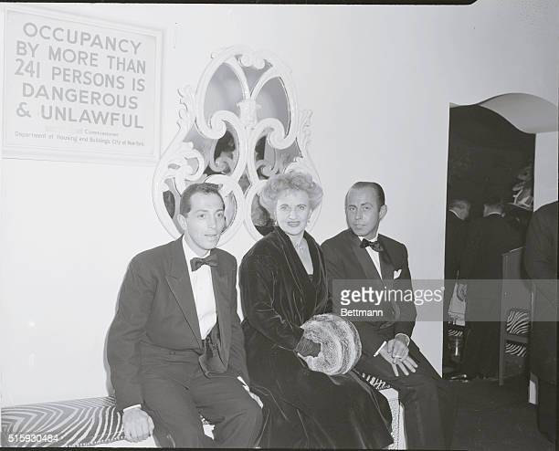 El Morocco Nightclub Actress Hermione Gingold and friends