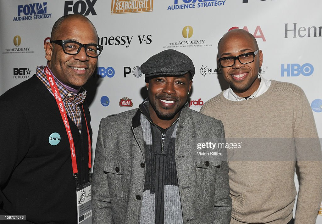 New York Events Director for the Academy of Motion Picture Arts and Sciences Patrick Harrison, producer Will Packer and moderator Brickson Diamond attend the Academy Conversation With Will Packer At Sundance Film Festival - 2013 Park City on January 19, 2013 in Park City, Utah.
