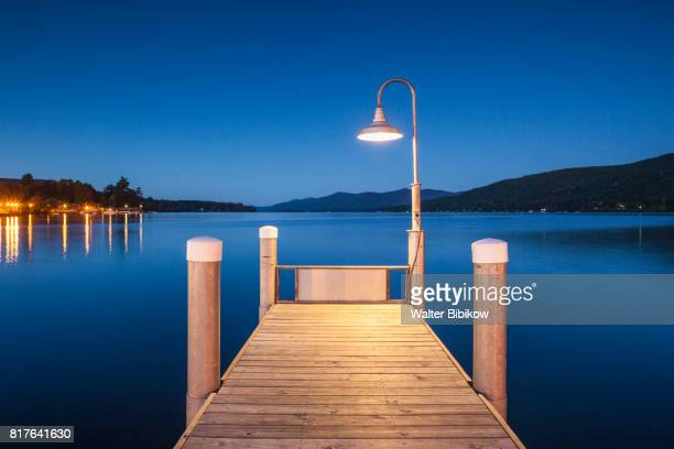 usa, new york, exterior - lake george new york stock pictures, royalty-free photos & images