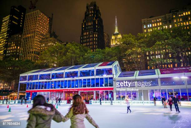 usa, new york, exterior - bryant park stock pictures, royalty-free photos & images