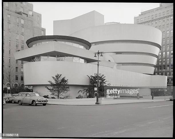 Exterior view of the Guggenheim Museum