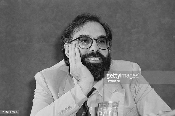 Film director Francis Ford Coppola meets reporters at a press conference here late 8/10 following the press screening of his new film Apocalypse Now...
