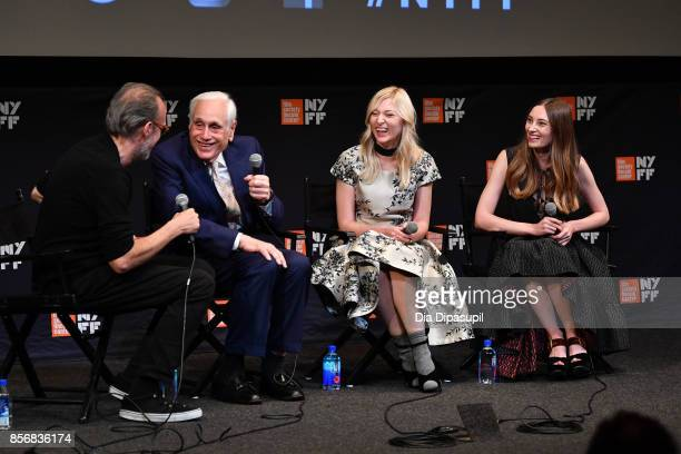 New York Film Festival director Kent Jones Edward Jay Epstein Ines Talakic and Ena Talakic take part in a QA following a screening of 'Hall of...
