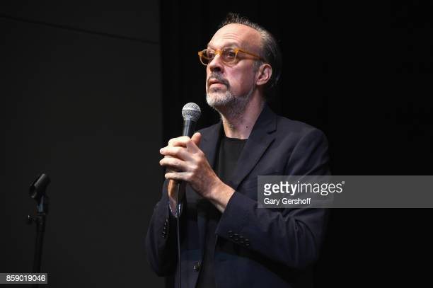 New York Film Festival Director Kent Jones introduces Four Sisters The Hippocratic Oath during the 55th New York Film Festival at The Film Society of...