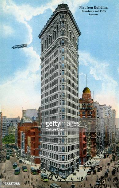 Flat Iron Building Broadway and Fifth Avenue