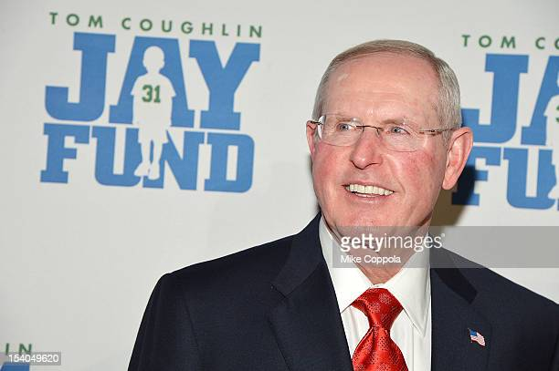 New York football Giants head coach Tom Coughlin attends his 8th Annual Champions For Children Gala at Cipriani 42nd Street on October 12 2012 in New...