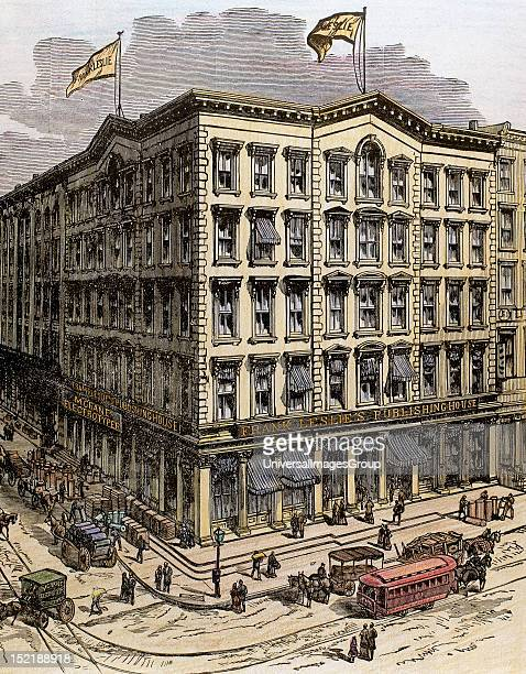 USA New York Frank Leslie's Publishing House Colored engraving