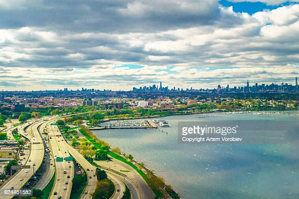 new york from the air - laguardia airport stock pictures, royalty-free photos & images