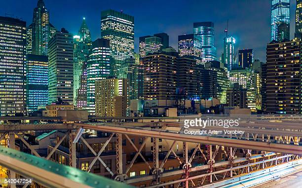 New York from the Brooklyn Bridge