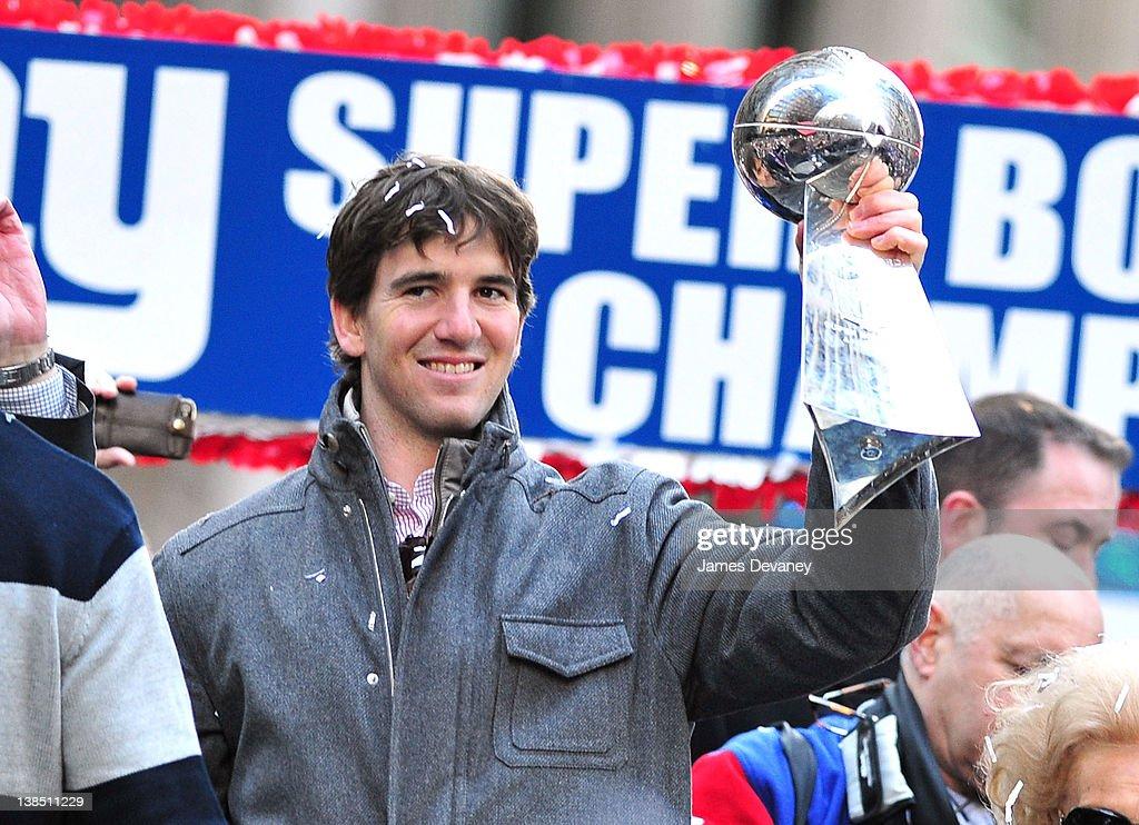 Super Bowl XLVI - New York Giants Victory Parade : News Photo