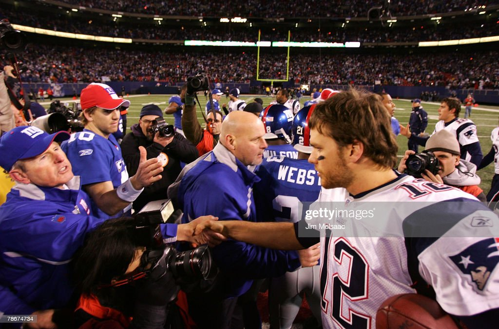 New England Patriots v New York Giants : News Photo