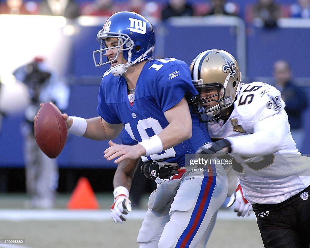 New Orleans Saints vs New York Giants - December 24, 2006