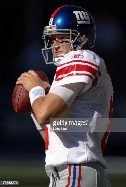 New York Giants quarterback Tim Hasselbeck during 42-30 loss to the Seattle Seahawks at Qwest Field in Seattle, Wash. On Sunday, September 24, 2006....