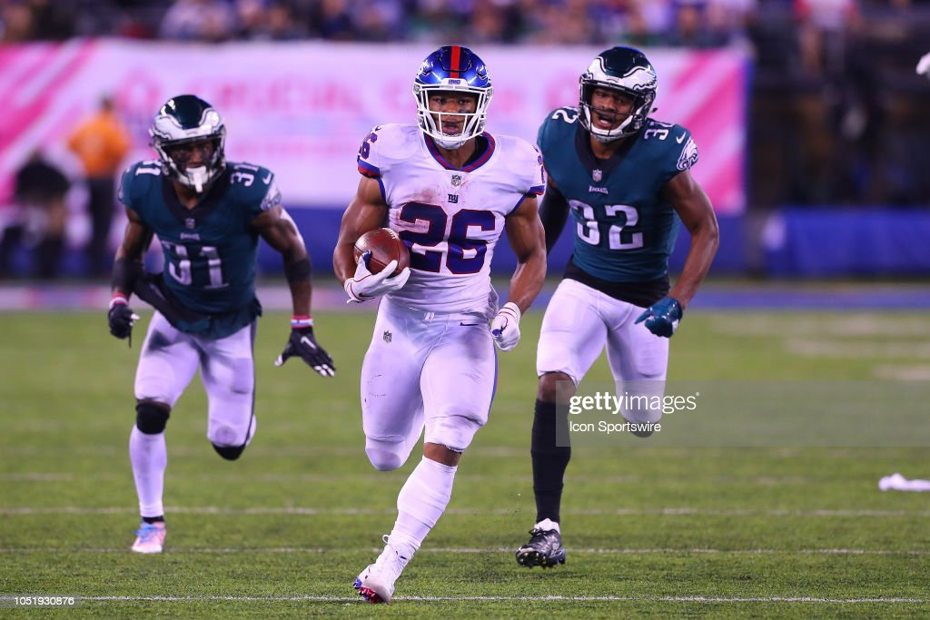 NFL: OCT 11 Eagles at Giants : News Photo