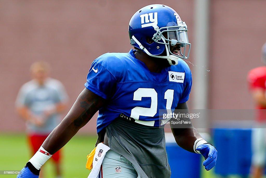 NFL: AUG 08 Giants Training Camp : News Photo