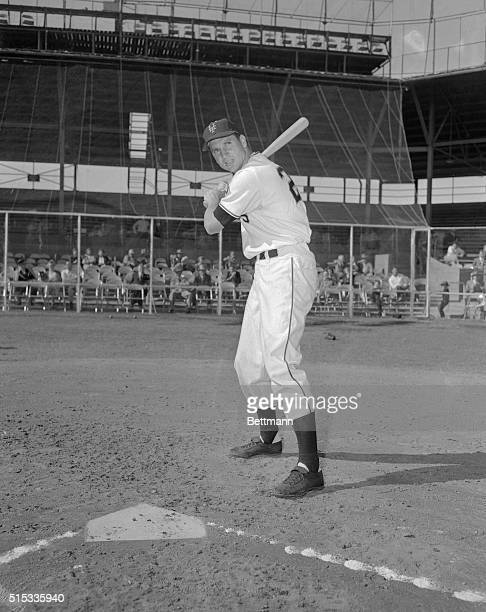 New York Giants third baseman Bobby Thomson will use a new stance at the plate this year. Closely resembling Stan Musial of the Cardinals in the...