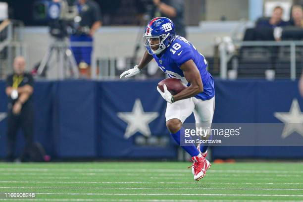 New York Giants Wide Receiver Bennie Fowler makes a reception during the game between the New York Giants and the Dallas Cowboys on September 8 2019...