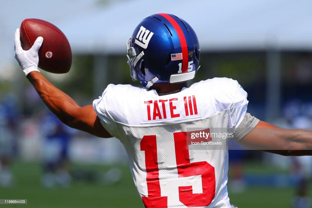 NFL: AUG 03 Giants Training Camp : News Photo
