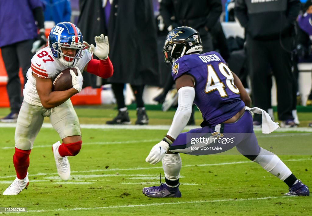 NFL: DEC 27 Giants at Ravens : News Photo