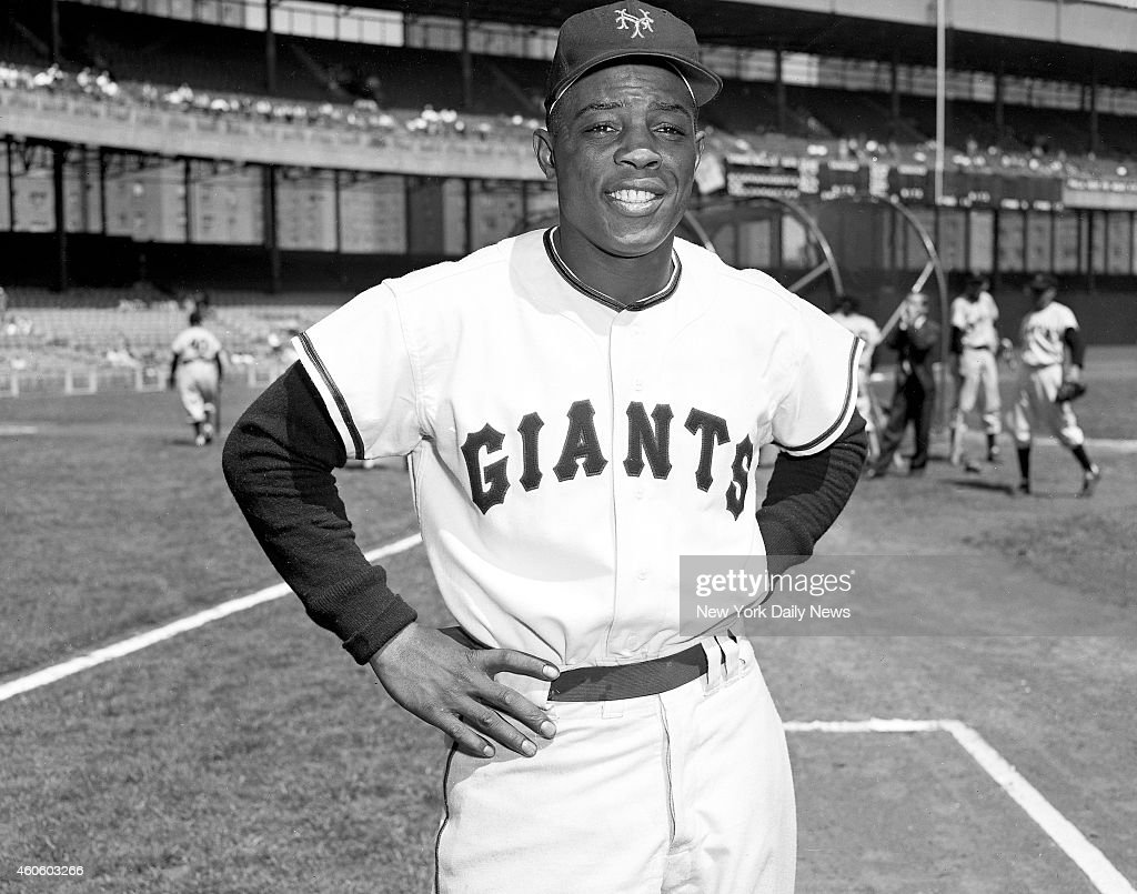 new concept 7d780 752b7 New York Giants Willie Mays No. 24 News Photo - Getty Images