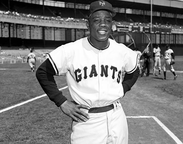 New York Giants Baseball Willie Mays