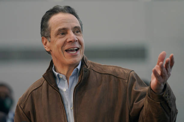 NY: Governor Cuomo Tours Javits Center Mass Vaccination Site In Manhattan