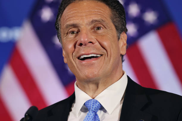 DC: New York Governor Cuomo Holds His Daily Coronavirus Briefing In Washington, D.C.