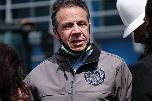 NY: New York Governor Cuomo Holds Event On Long Island