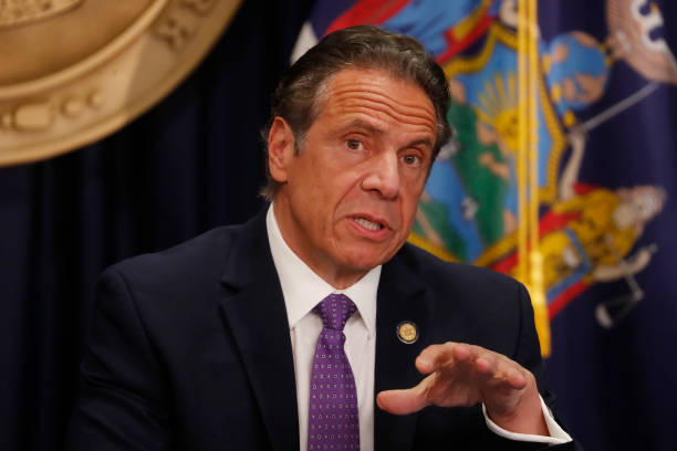 NY: New York Governor Cuomo Holds Covid Briefing