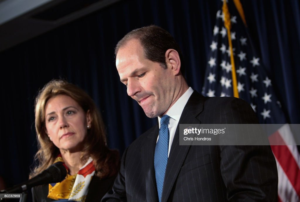 New York Gov. Eliot Spitzer Linked To Prostitution Ring : News Photo