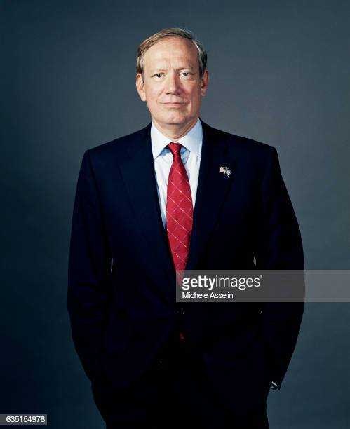 New York Governor George Pataki is photographed for New York Magazine on in 2004 in New York City