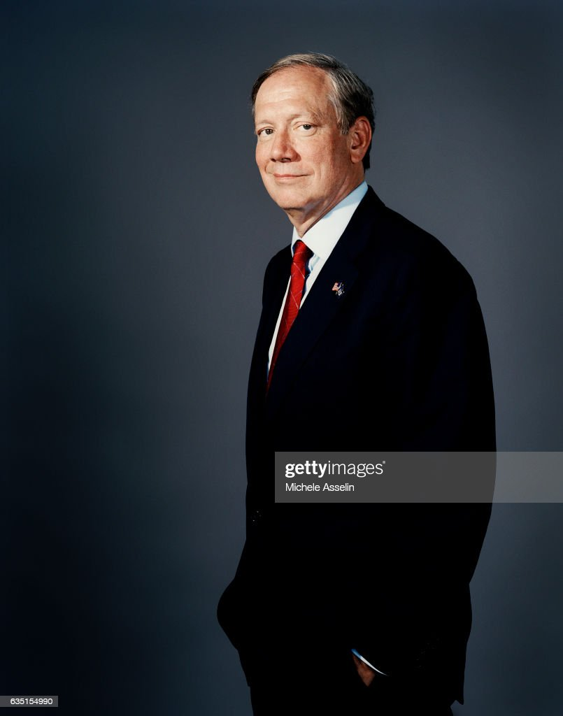 New York Governor George Pataki is photographed for New York Magazine on in 2004 in New York City.