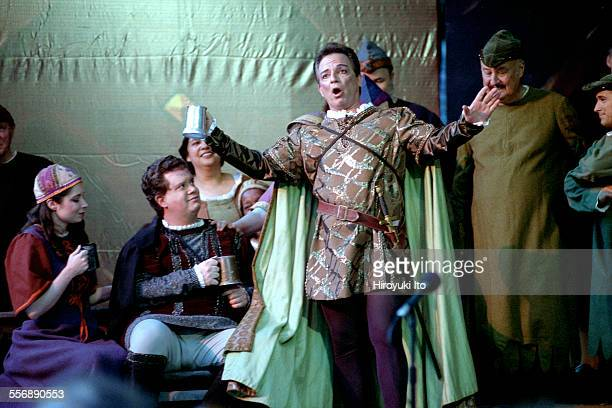 New York Grand Opera performing Verdi's ''Otello'' at Summerstage in Central Park on Wednesday night July 18 2001This imageMichael Corvino