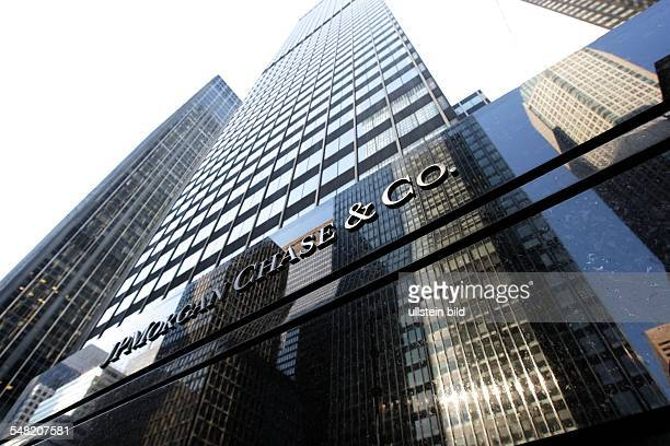 USA New York headquarters of JPMorgan Chase Co
