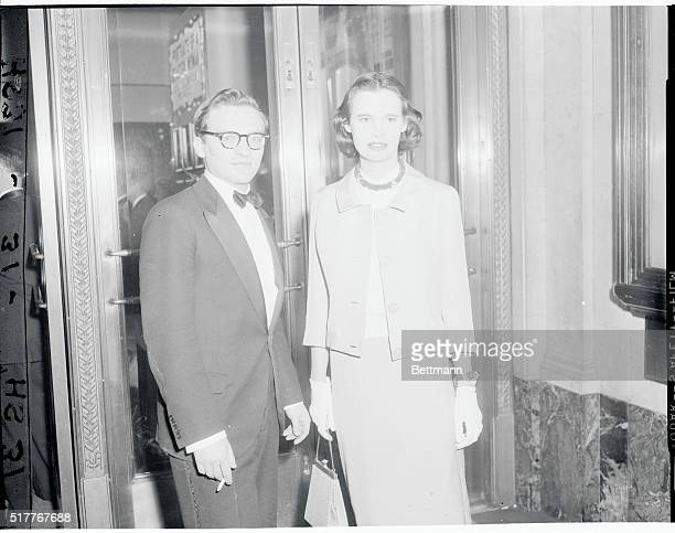 New York: Heiress-turned-actress Gloria Vanderbilt steps out with actor-director Sidney Lument, whose names have been romantically linked of late....