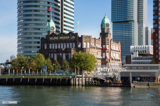 new york hotel rotterdam - rotterdam stock pictures, royalty-free photos & images