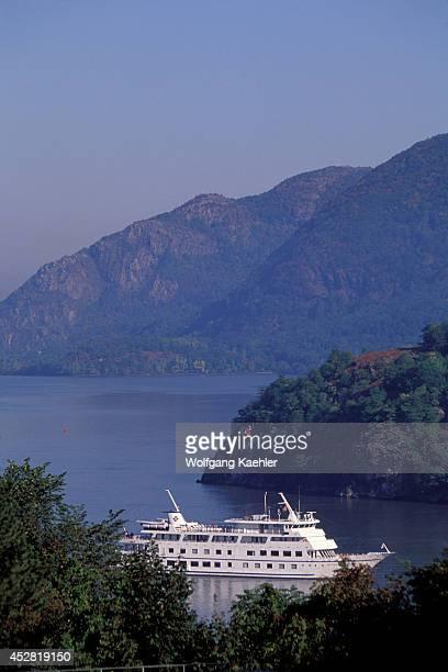 USA New York Hudson River West Point Military Academy Hudson River Nantucket Clipper