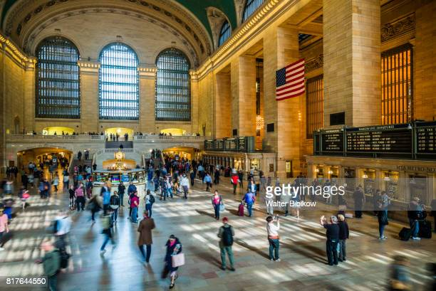 usa, new york, interior - station stock pictures, royalty-free photos & images