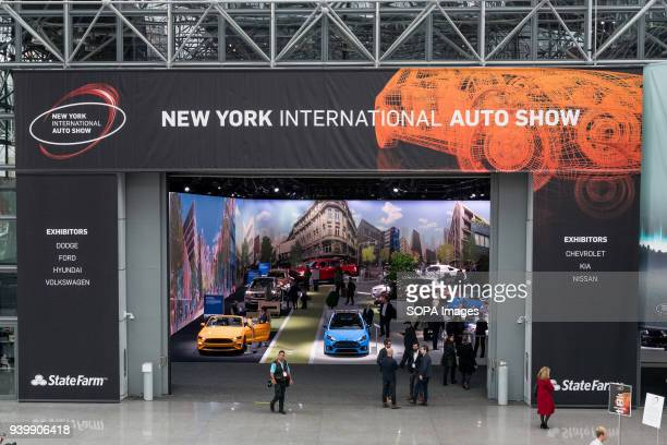 New York International Auto Show in New York City The New York International Motor Show is being hosted in the Jacob Javits Convention Center in New...