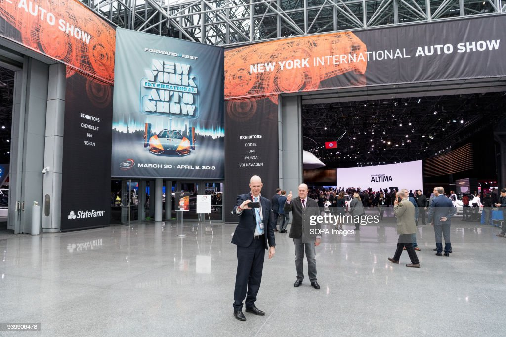 New York International Auto Show In New York City The New - Jacob javits center car show 2018