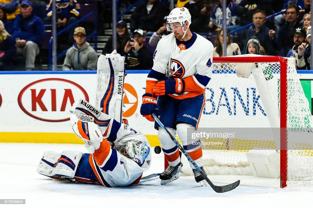 NHL: NOV 11 Islanders at Blues : News Photo