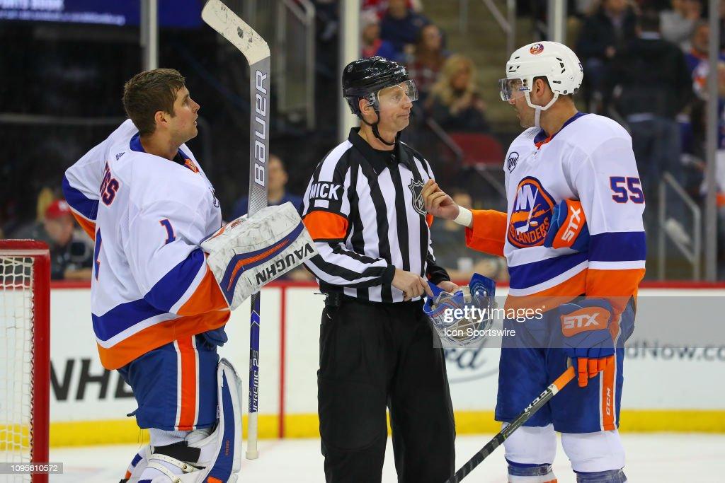 NHL: FEB 07 Islanders at Devils : News Photo