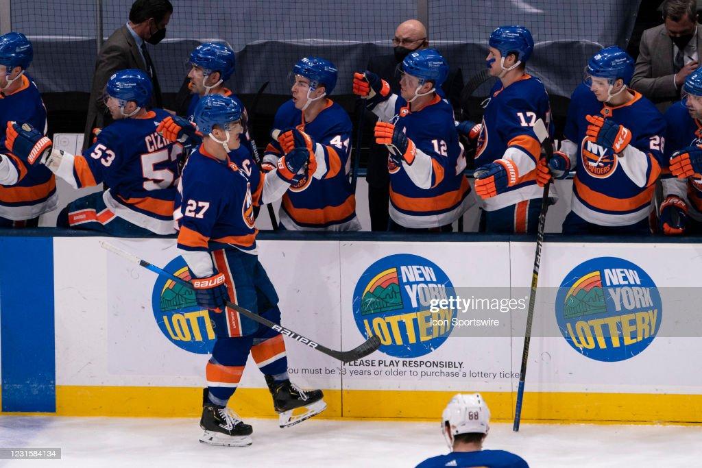 NHL: MAR 07 Sabres at Islanders : News Photo