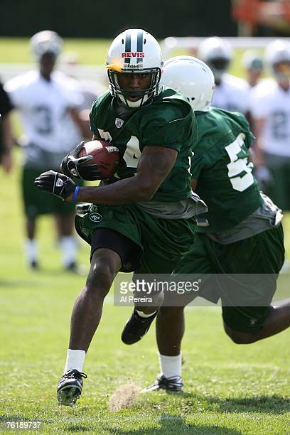 New York Jets CB Darrelle Revis in action during Rookie Minicamp, Hempstead, New York. May 12, 2007.
